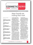 Cosmetic News Weekly Newsletter