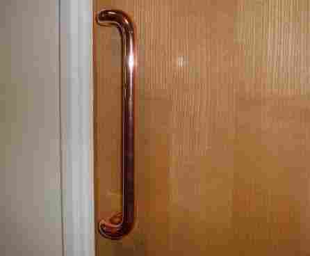 picture of Copper touch surfaces have been found to prevent the spread of respiratory infections