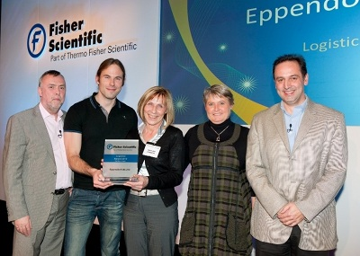 Eppendorf uk wins logistics award for delivery performance for Koch eppendorf