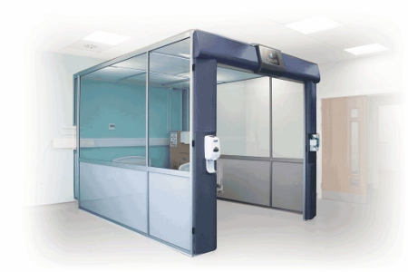 picture of The ICE-pod from Bioquell will enable hospitals to isolate patients in ward environments
