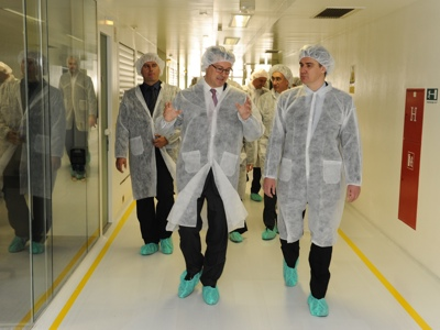 Pliva Opens New Us 100m Oral Solid Forms Facility In Zagreb