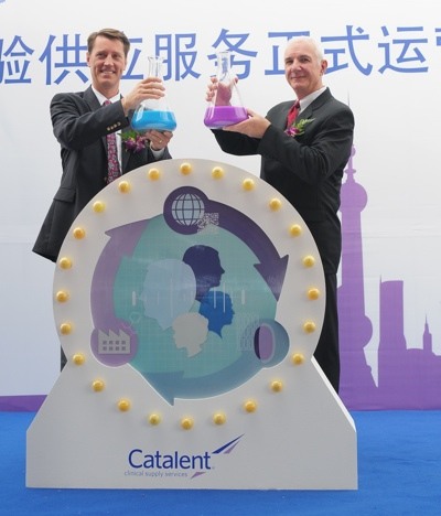 Catalent Opens Clinical Trial Supply Facility In Shanghai