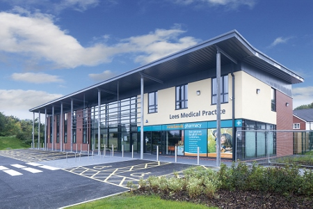 picture of Lees Medical Practice in Oldham is among the finalists for the BREEAM Awards 2015