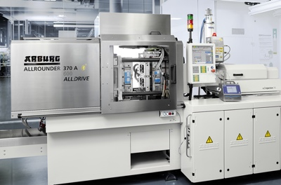 Arburg presents injection moulding machine for plastic