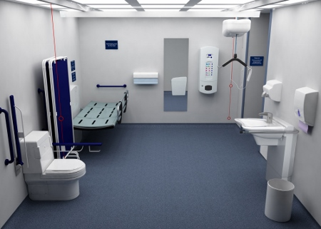 hospital bathroom flooring improving access to hospital washrooms 13165