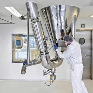 picture of The GEA Process Engineering GMP spray drying facility in Denmark has been approved for use in the production of commercial drugs