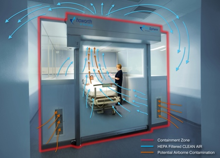 architecture air and airborne infections An airborne infection isolation (aii) room is designed with negative  cavity will  be required and should be coordinated with the architect.