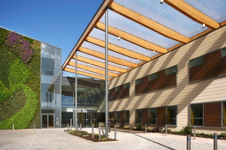 picture of David Morley Architects won Best Acute Hospital Development for the Kent Institute of Medicine and Surgery