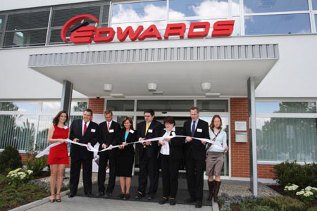 Edwards Opens First Volume Manufacturing Site In Mainland Europe