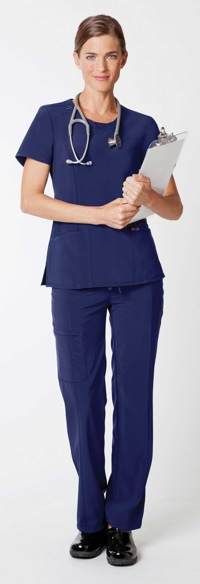 picture of Certainty antimicrobial technology allows healthcare workers to perform their duties in clothing that helps reduce the buildup of bacteria on fabric, while also being comfortable and fashionable