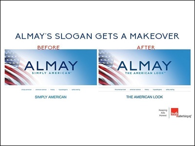 Almay axes Simply American tagline after complaints