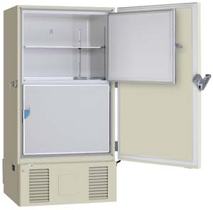 Sanyo Dual Cooling Freezer Provides Sample Security