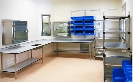 Medical Air Technology designs and builds specialist cleanroom for