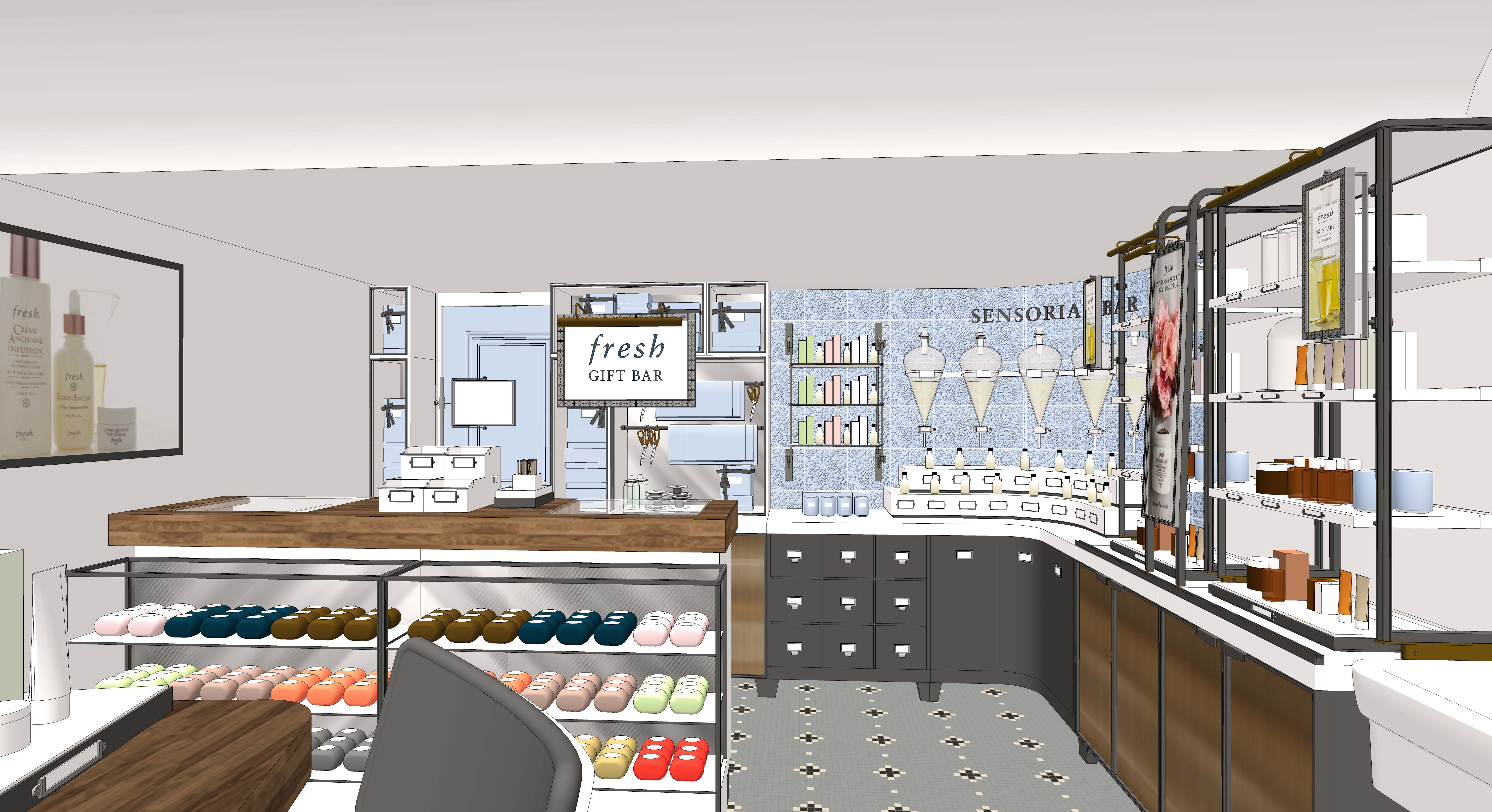 fresh joins covent garden beauty hub with new store