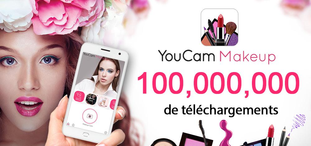 YouCam Makeup app hits 100 million downloads