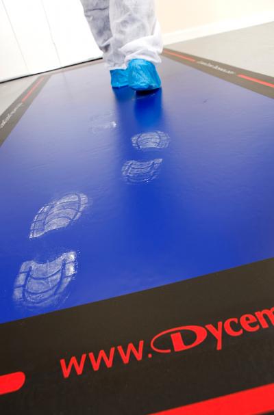 Dycem Floor Edging System Reduces Contamination Risks