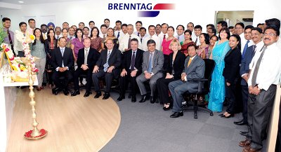 Brenntag opens head office in India