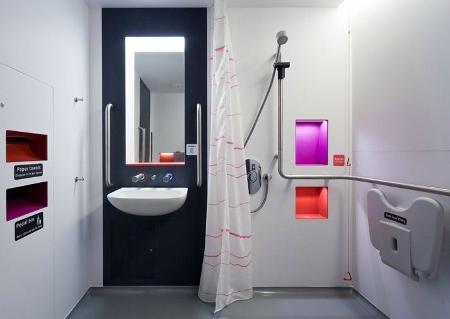 Regulatory standards steer hospital washroom design