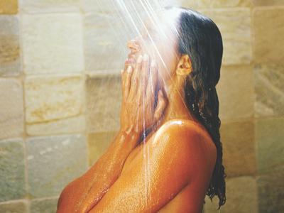 Mature shower pics