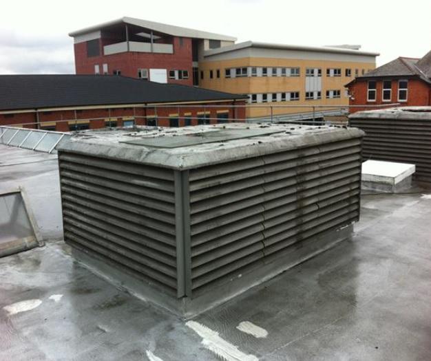 Case Study Wythenshawe Hospital Roof Refurbishment