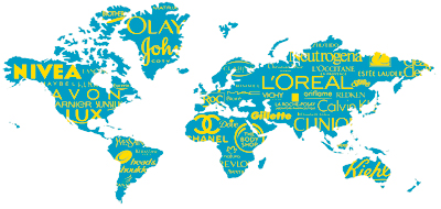 loreal building a global cosmetic brand Case study loreal a global marketing strategy marketing essay nations of beauty l'oreal's global beauty through its brands, l'oreal had.