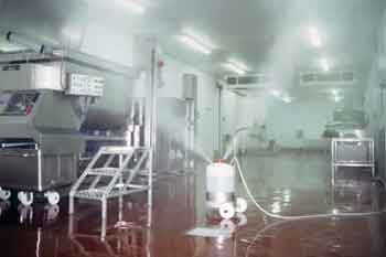 Cleaning and Disinfection: Whole room fogging
