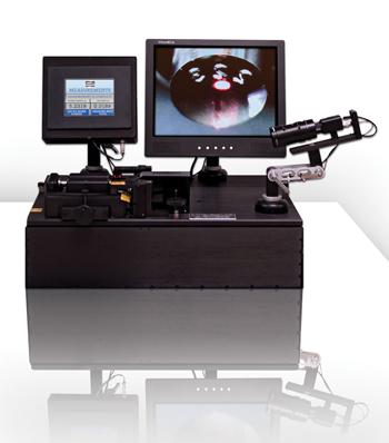 Laser Vision System (LVS) inspection device and tablet