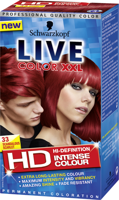Schwarzkopf Provides A Colour Boost With Live Color Xxl Hd