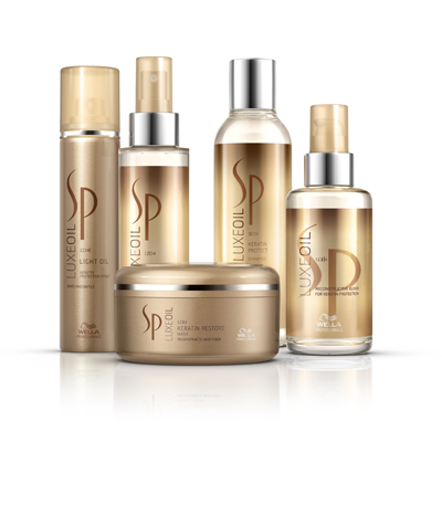 Hair care brand luxe oil system professional launches in for P g salon professional