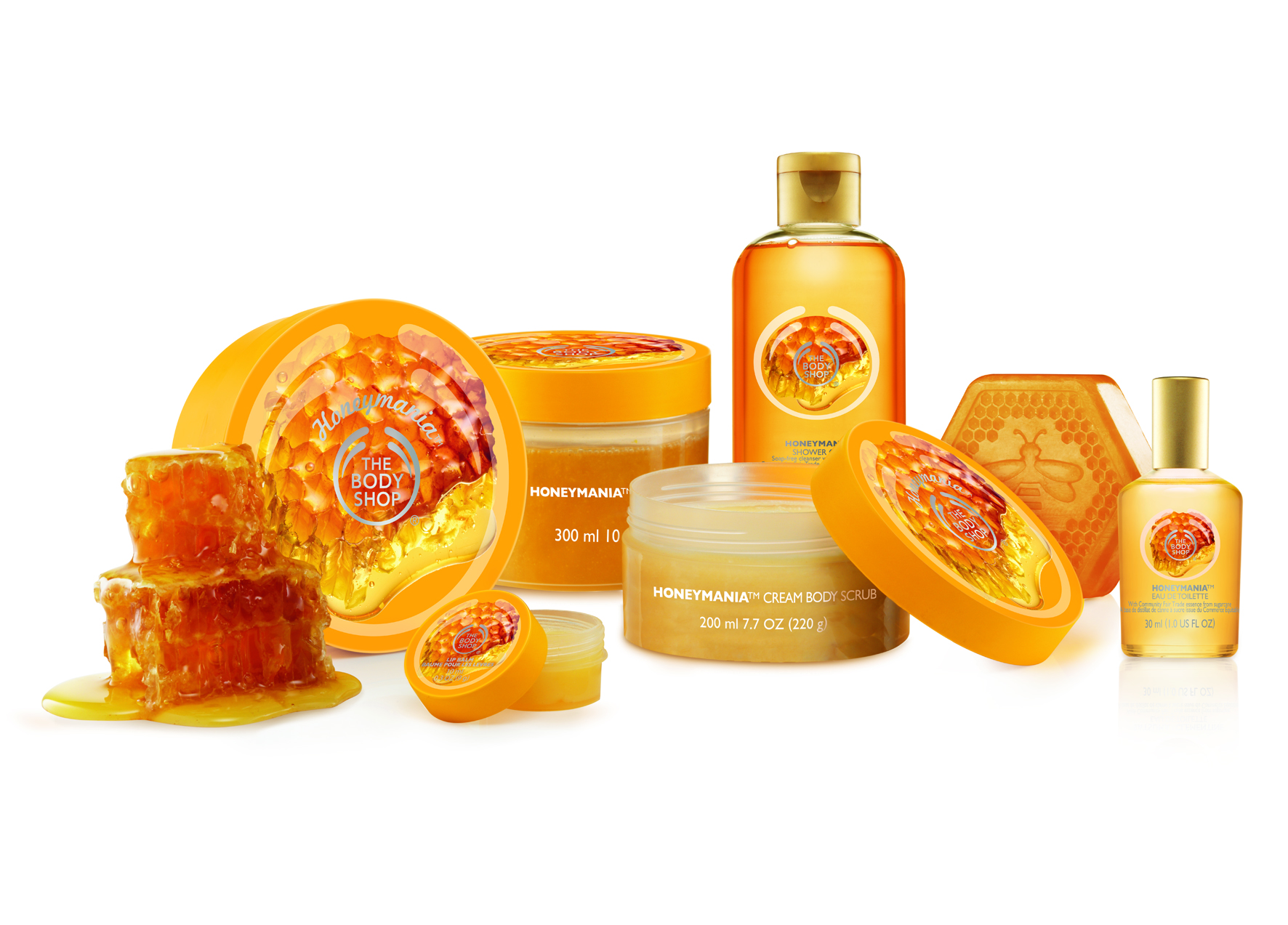 The Body Shop Heads To The Hives For Honeymania Line