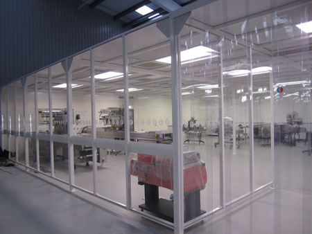 Connect 2 Cleanrooms creates large modular cleanroom solution