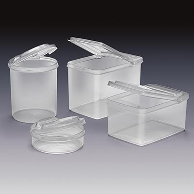 Amazing Qosmedix Has Recently Introduced A New Collection Of Clear Polypropylene Storage  Containers With Convenient Flip Top Lids. Great For Organising Small ...