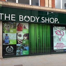 the body shop values